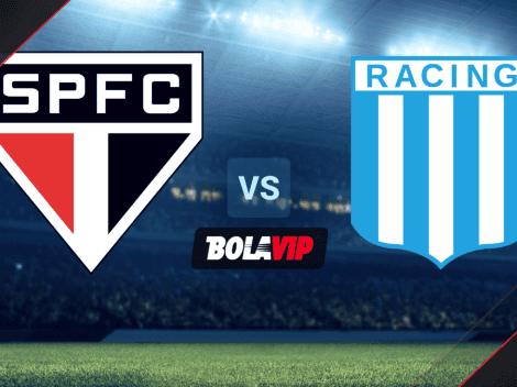 HOY | Sao Paulo vs. Racing: Cómo, cuándo y dónde VER EN DIRECTO el partido por Copa Libertadores