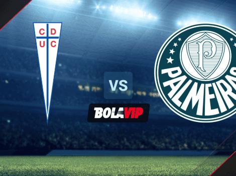 Universidad Católica vs. Palmeiras por la Copa Libertadores: cómo, cuándo y dónde ver EN VIVO el partido
