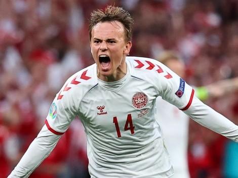 Euro 2020 revelation Mikkel Damsgaard on the radar of European giants