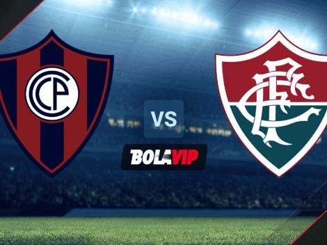 HOY   Cerro Porteño vs. Fluminense: Cómo, cuándo y dónde ver EN VIVO el partido por Copa Libertadores