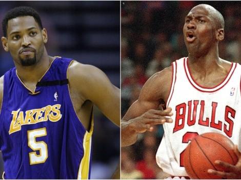 Exjugador de los Lakers no considera a los Bulls de Jordan una dinastía