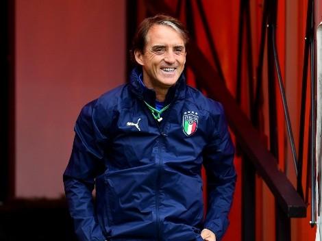 Video: Mancini le hizo una broma a sus jugadores en la previa de la final de la Eurocopa