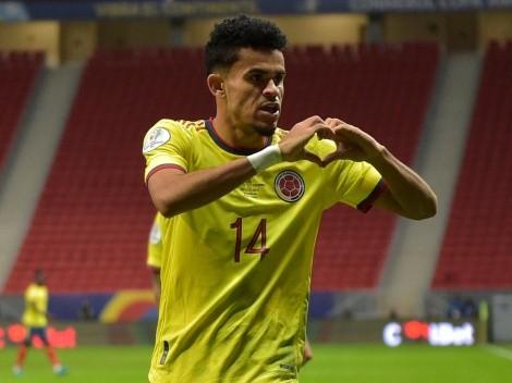 Luis Díaz, elegido como la revelación de la Copa América 2021