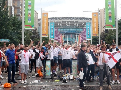 Inglaterra enfrenta cuatro cargos de UEFA por los incidentes en la Eurocopa