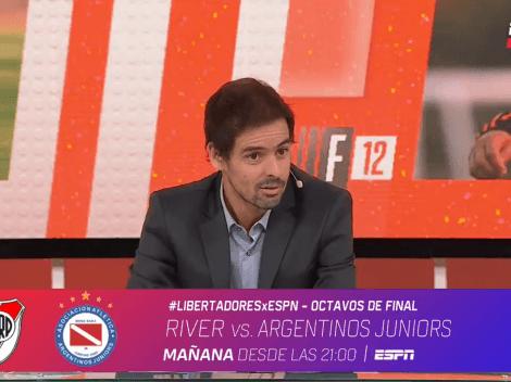 """Closs: """"Hoy el Beto Briasco mete dos goles, te juego una pizza"""""""
