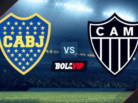 Sigue EN DIRECTO Boca Juniors vs. Atl. Mineiro   TV para mirar ONLINE GRATIS el partido de la Copa Libertadores