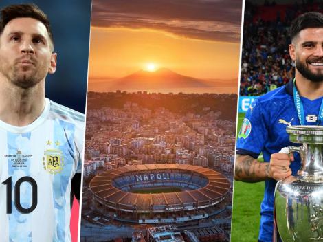 Para vos, Diego: conversaciones avanzadas para el Argentina - Italia en Nápoles