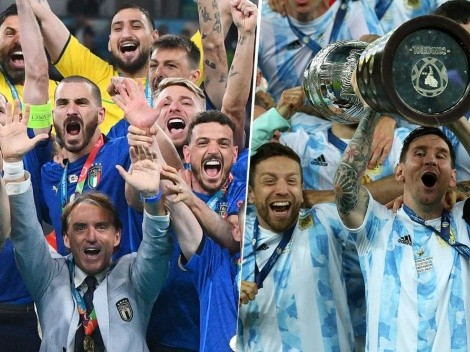 Siguen filtrando más detalles de lo que sería el partido de Argentina vs. Italia