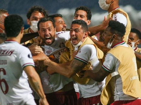 Fluminense azotó como 'Ciclón' y derrotó a Cerro Porteño, por la Copa Libertadores