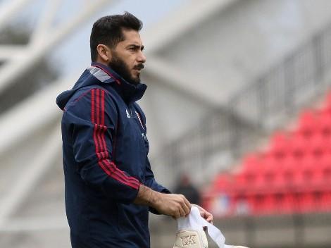 """Herrera y la temporada 2021 en la U: """"Para mí este es un año perdido"""""""