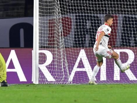 El blooper de Gabriel Arias, de Racing, en el gol de Sao Paulo, por la Libertadores