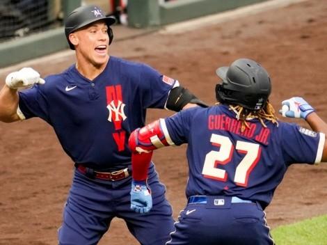 Vladimir Guerrero Jr. le dio la victoria a la Liga Americana en el MLB All-Star Game