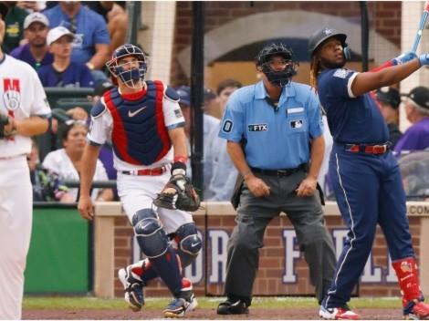 Así fue el batazo de Vladimir Guerrero Jr. para hacer historia en el MLB All-Star Game 2021