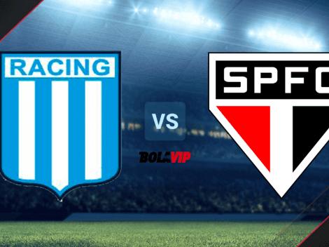 Dónde seguir Racing vs. Sao Paulo | TV, Fecha y Horario para mirar EN DIRECTO ONLINE el duelo por la Copa Libertadores