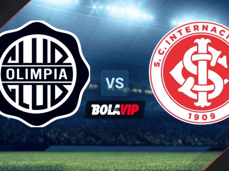 Olimpia vs. Internacional por la Copa Libertadores: Fecha, horario y TV para VER EN VIVO HOY