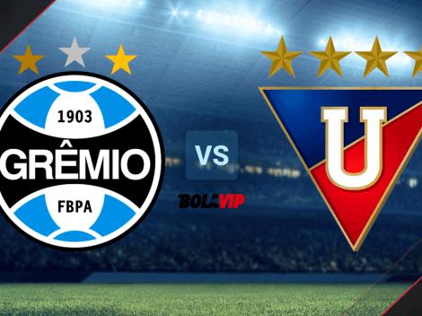 Qué canal transmite Gremio vs. Liga de Quito por la Copa Sudamericana