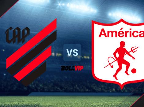 Athletico Paranaense vs. América de Cali: día, horario y canal de TV del partido por la Copa Sudamericana