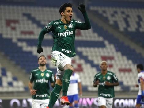 El campeón empezó los octavos con triunfo: Palmeiras venció a Universidad Católica