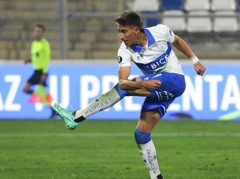 Diego Valencia motivado con el rendimiento de la UC para la vuelta ante Palmeiras