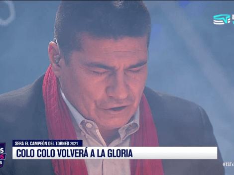 """Vega y predicciones para Colo Colo: """"Campeón y puede salir varias fechas antes"""""""