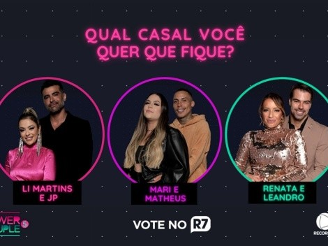 Enquete Power Couple Brasil 5: Parcial aponta qual casal deve ser eliminado do reality show nesta quinta-feira (15)
