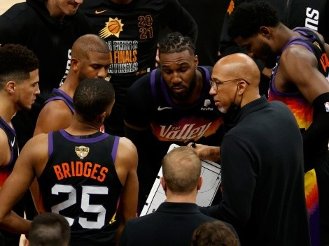 VIDEO: el discurso del técnico de Phoenix Suns tras perder ante Bucks