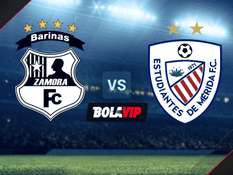Qué canal transmite Zamora vs. Estudiantes de Mérida por la Liga Futve