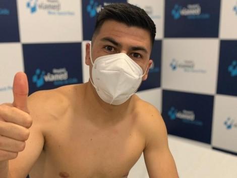 Tomás Alarcón pasó los exámenes médicos en el Cádiz de España