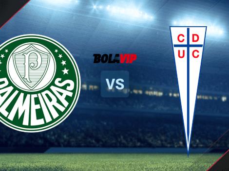 VER HOY Palmeiras vs. Universidad Católica | Fecha, hora y TV para ver el duelo EN DIRECTO por Copa Libertadores