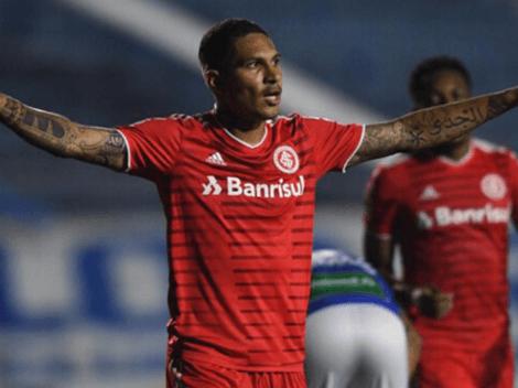 Irresponsabilidad: Inter de Porto Alegre informó de negligencia en la recuperación de Paolo Guerrero