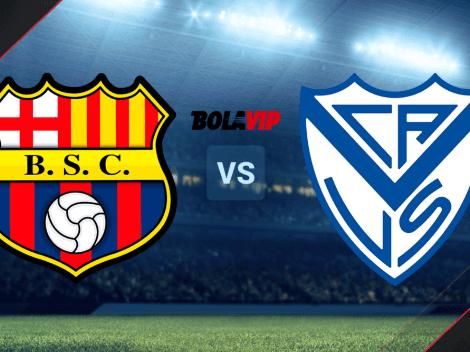 VER HOY Barcelona SC vs. Vélez | Fecha, hora y TV para ver el duelo EN DIRECTO por Copa Libertadores