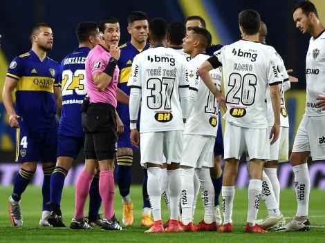Se calentó más la serie: el Presidente de Mineiro criticó a Boca y defendió el arbitraje