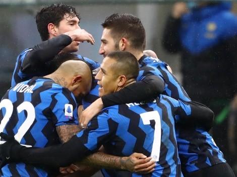 Alexis y Vidal van por la defensa del título en la Serie A con Inter