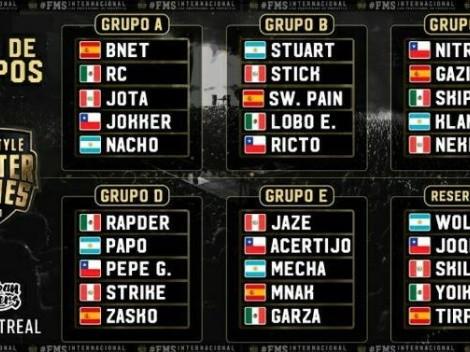 Así quedaron sorteados los grupos de la FMS Internacional 2021