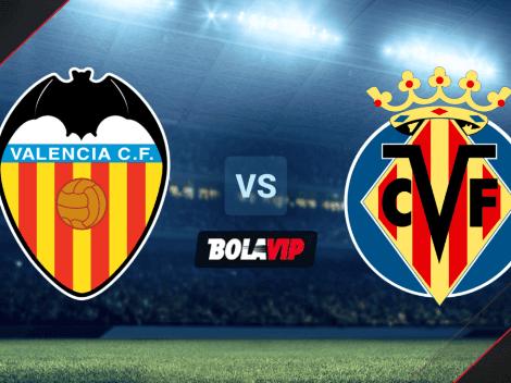 Valencia vs. Villarreal VER HOY EN VIVO por un amistoso de pretemporada   Horario y TV
