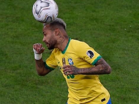 Neymar reapareció luego de la final de la Copa América con tremendo look
