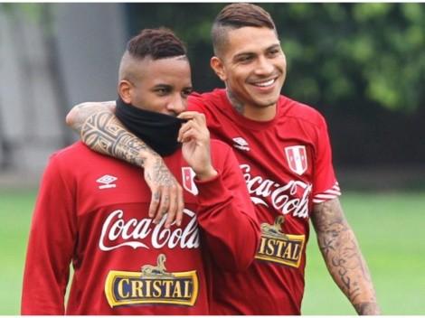 Farfán y su festejo viral por el reconocimiento de la Copa América hacia Paolo Guerrero