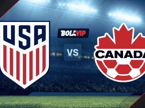 Estados Unidos vs. Canadá por la Copa Oro: día, horario y canal de TV del duelo