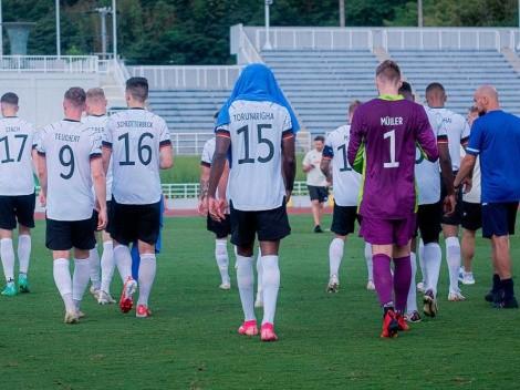 Alemania se retiró en un partido preparatorio ante Honduras por presunto insulto racista