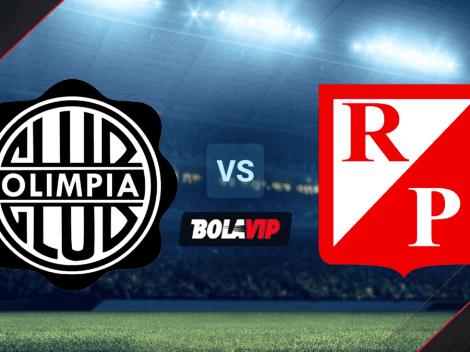 Qué canal transmite Olimpia vs. River Plate EN VIVO por la Copa Primera Tigo: hora y canal de TV   Fecha 1