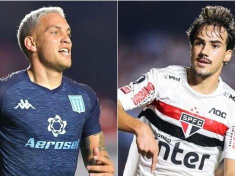 Racing x São Paulo: data, hora e canal para assistir à partida das oitavas da Copa Libertadores