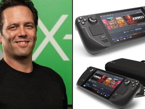Phil Spencer elogia la Steam Deck, la nueva consola portátil de Valve
