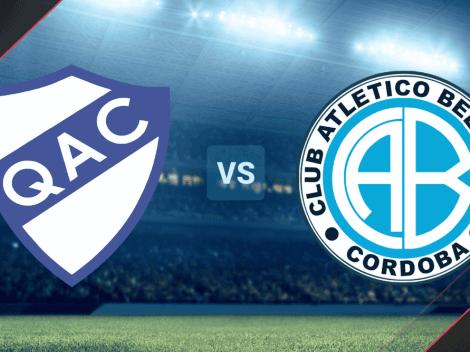 Quilmes vs Belgrano: Fecha, hora y canal de TV para ver EN VIVO ONLINE la Primera Nacional