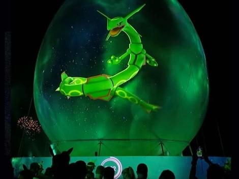 Hologramas de Pokémon aparecen por el mundo para celebrar el Pokémon GO Fest 2021