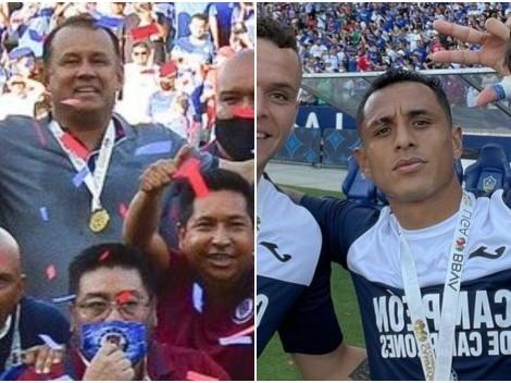 De la mano de Juan Reynoso y Yoshimar Yotún, Cruz Azul se coronó Campeón de Campeones