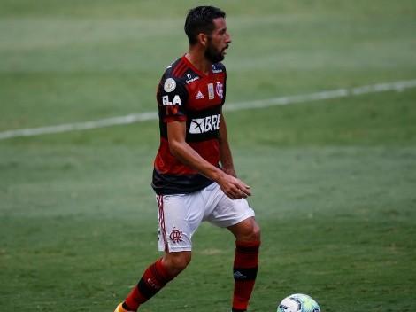 Mauricio Isla jugó 80 minutos y fue figura en victoria del Flamengo