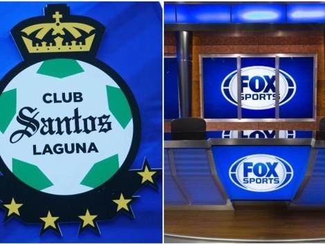 Por qué Santos Laguna rompió con Fox Sports