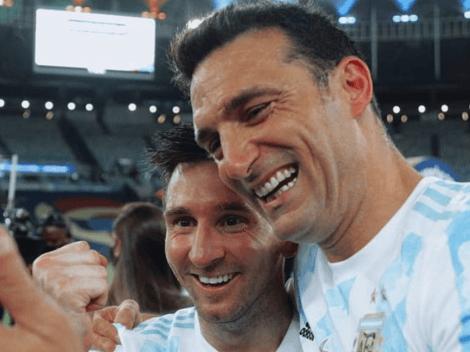 Acá empezó a ganar la Copa: el tuit de Scaloni alentando a Messi en 2016