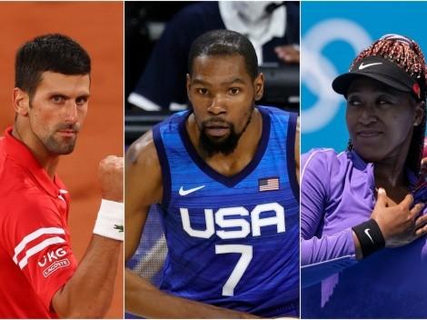 Los atletas mejores pagados que estarán en Tokio 2020