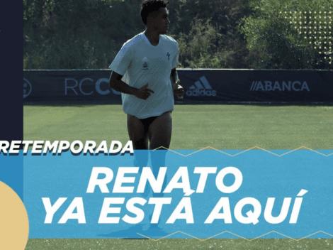 Renato Tapia recibido como superestrella en pretemporada del Celta de Vigo